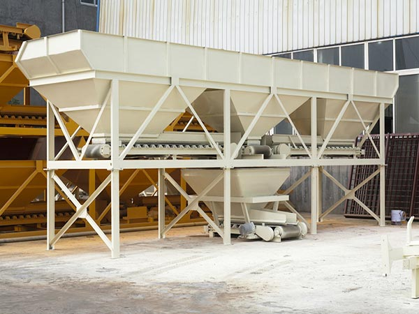 aggregate weighing system