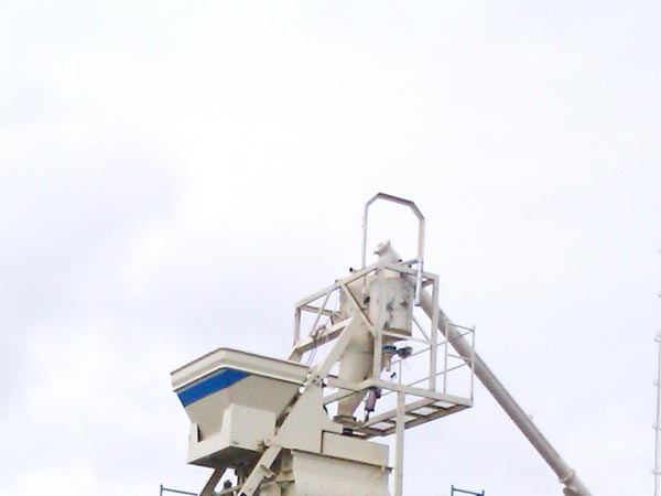 filler and water weighing system