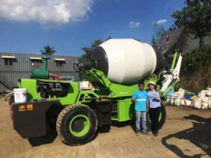self loading concrete mixer truck Philippines