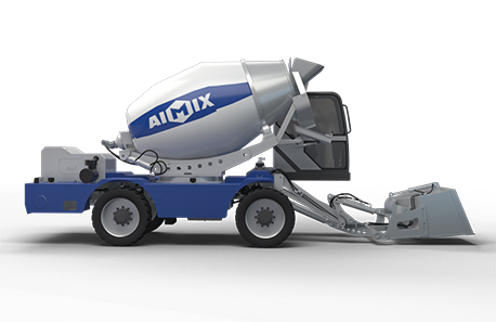 4.0 self-loading concrete mixer truck