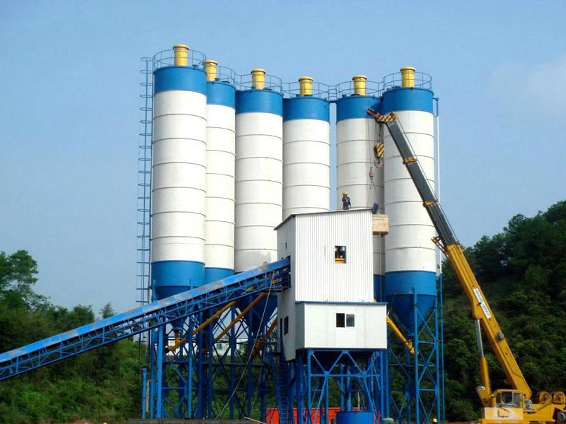 belt concrete plant