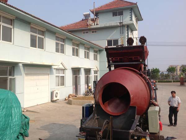 concrete pump workshop