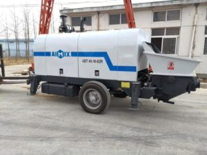 concrete pumping machine Bolivia