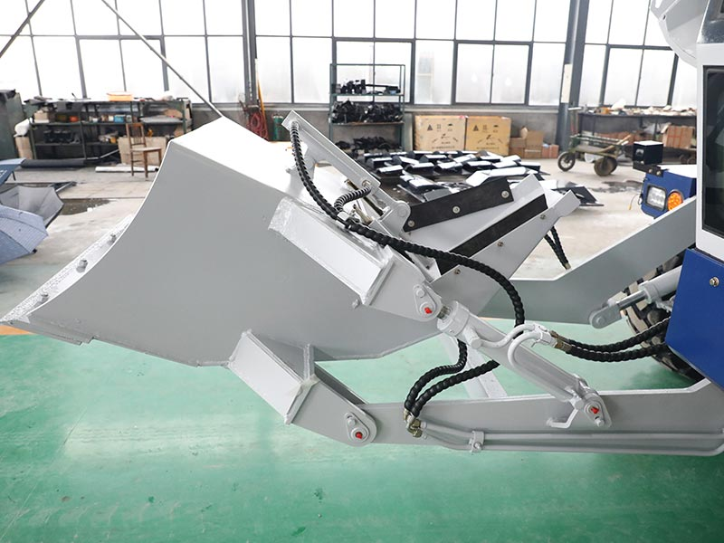 Production of self loading concrete mixers