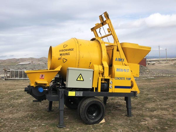 ABJZ30D mini concrete mixer pump
