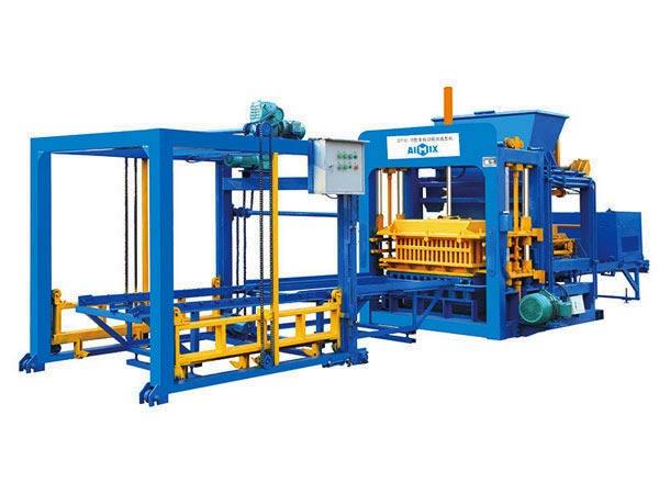 ABM-10S automatic concrete bricks making machine