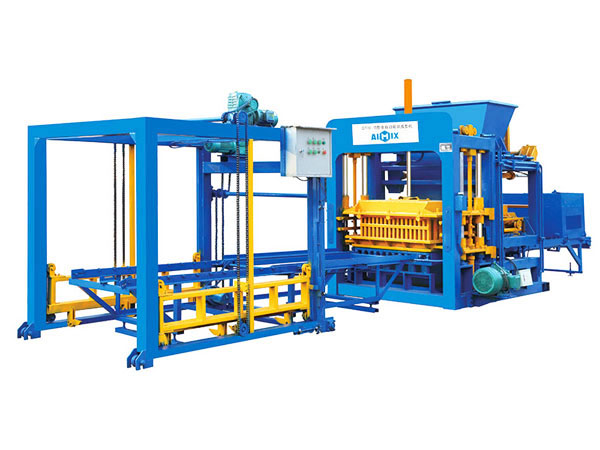 ABM-10S fully automatic fly ash bricks machine