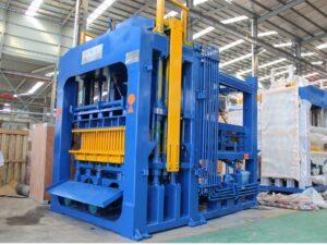 ABM-10S interlocking block machine