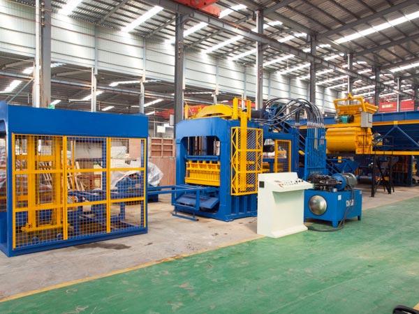 ABM-12S concrete block machines
