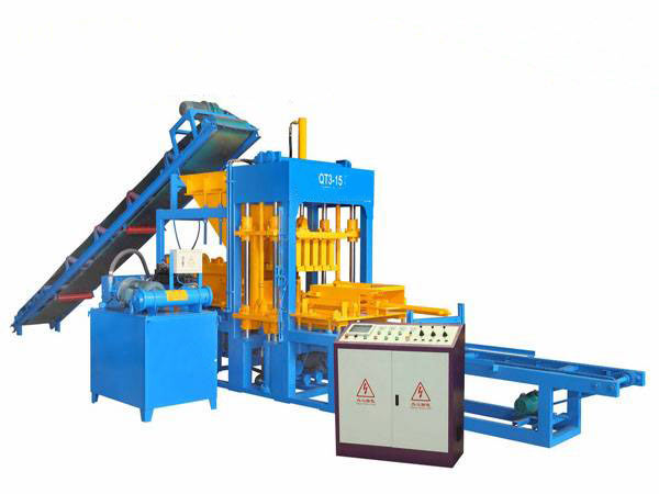 ABM-3S concrete block brick machine