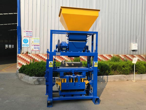 ABM-3S fully automatic ash brick machine