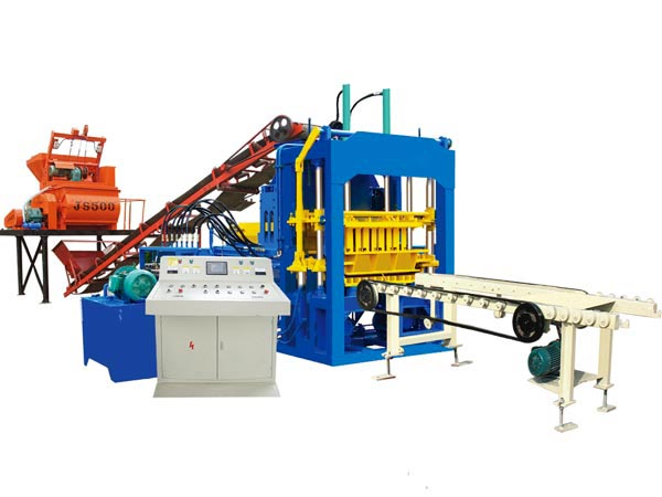 ABM-4S cement block machine