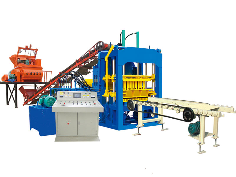 ABM-4S fully automatic fly ash brick machine