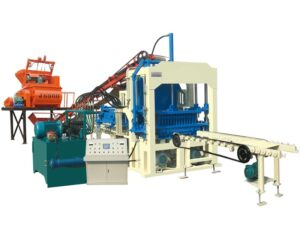 ABM-4S fully automatic fly ash brick plant