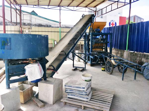 ABM-4SE automatic cement brick machine