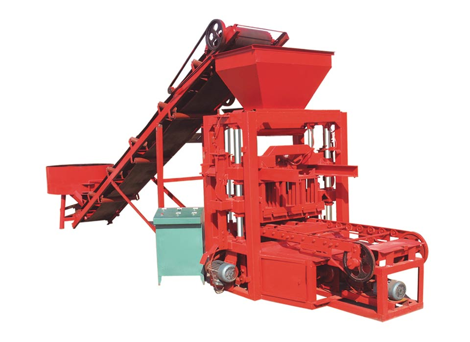 ABM-4SE concrete block making machine