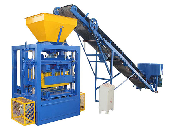 ABM-4SE fully automatic fly ash brick machine