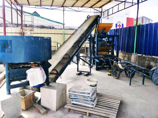 ABM-4SE solid brick machine