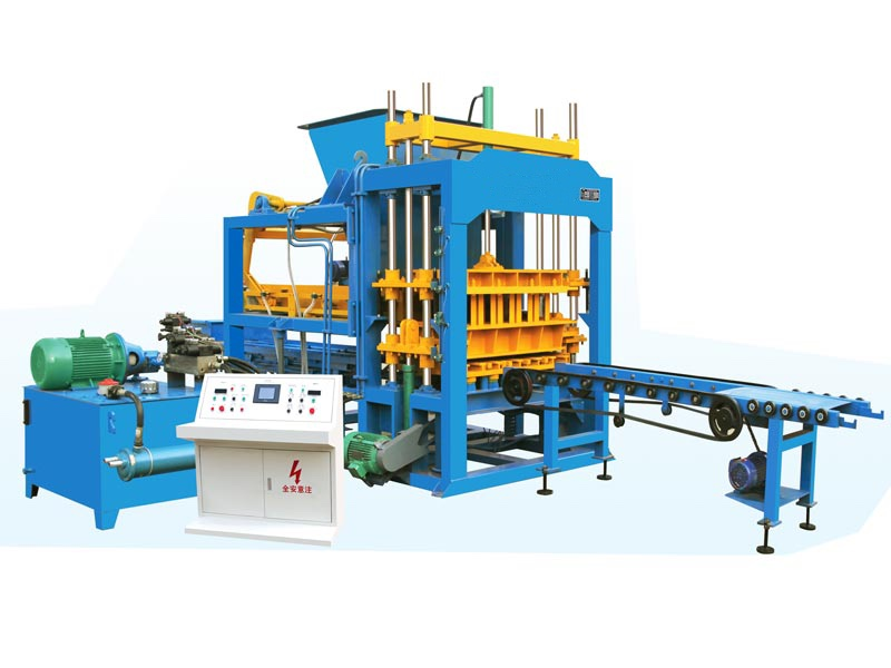 ABM-5S fully auto fly ash brick machine