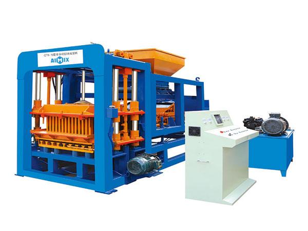 ABM-6S concrete block production machine