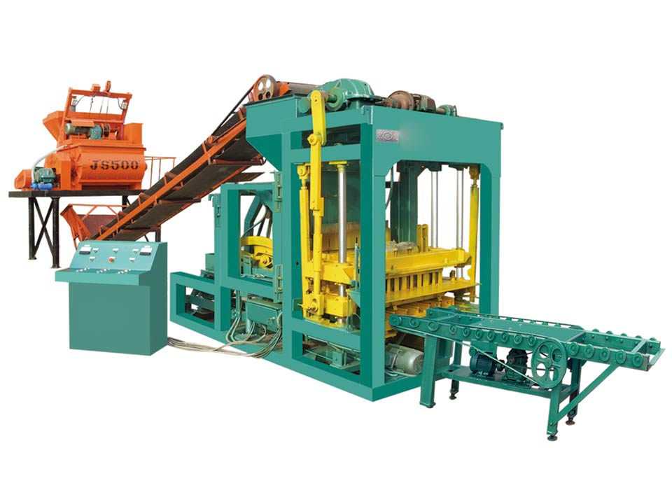 ABM-6S fly ash bricks manufacturing machine
