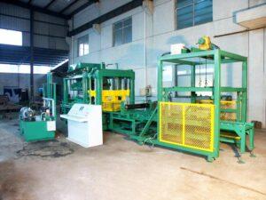 ABM-6S interlocking block machine