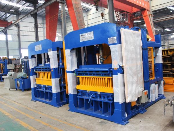 ABM-8S automatic concrete block machine