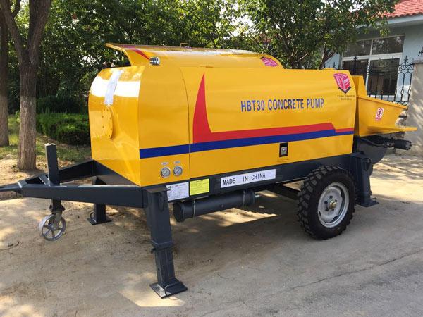 Bomba elétrica de concreto ABT30D para o Quênia