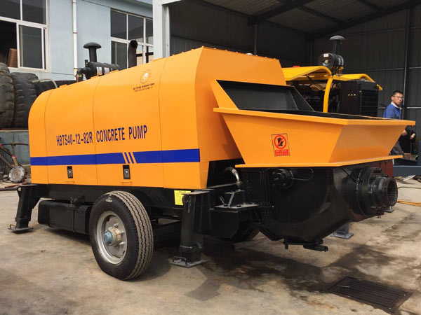 ABT40C diesel concrete pump to vietnam