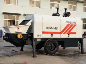 ABT40C diesel concrete trailer pump