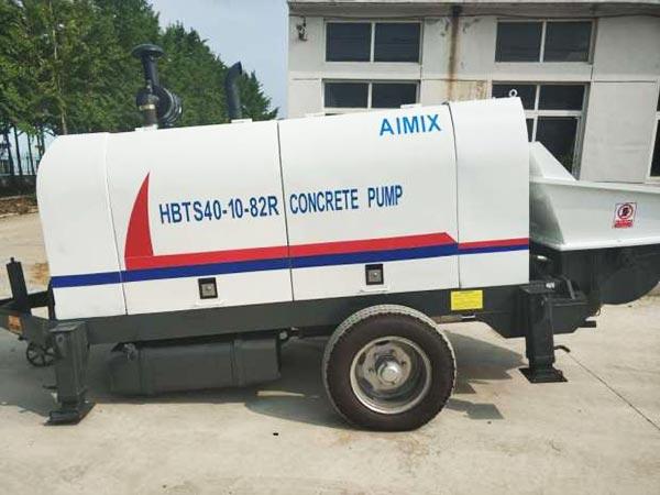 ABT40C diesel engine concrete pump Pakistan