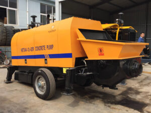 ABT40C diesel powered concrete pump