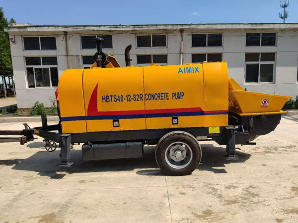 ABT60C concrete pump to Malaysia