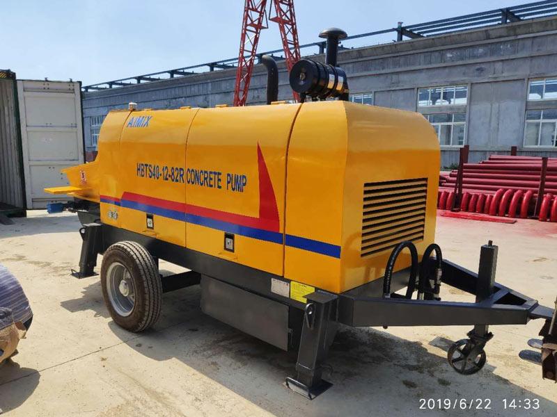 ABT60C diesel concrete pump Malaysia