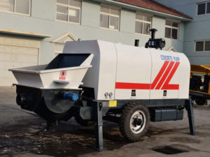 ABT60C diesel concrete pump machine