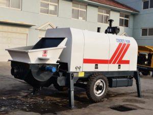 ABT60C diesel mini concrete pump