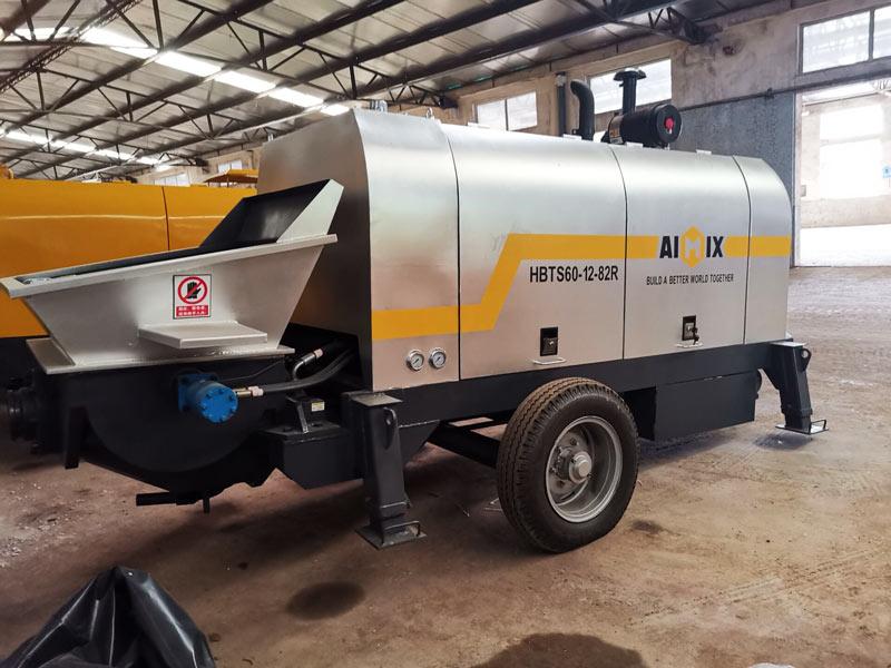 ABT60C diesel powered concrete pump