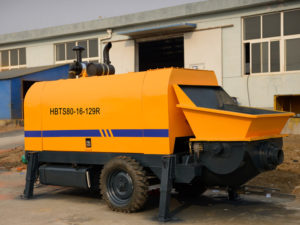 ABT80C diesel engine concrete pump