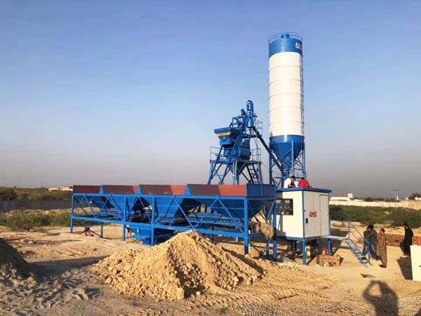 AJ-25 small concrete plant