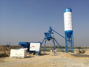 AJ-25 stationary concrete plant Pakistan