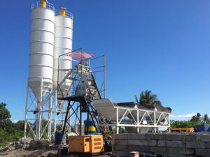 AJ-50 stationary concrete plant Philippines