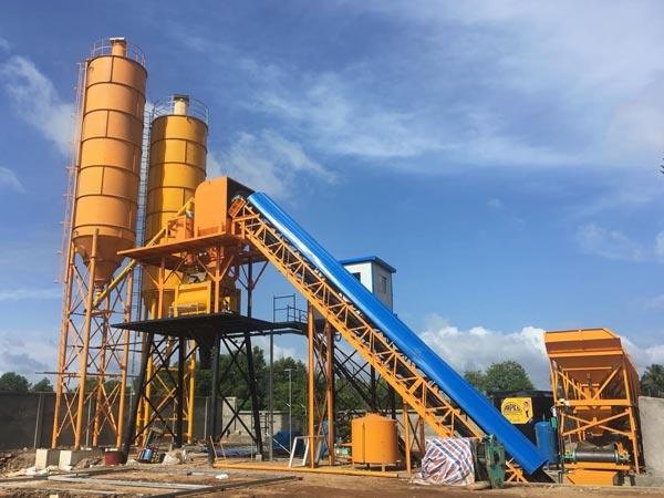 AJ-60 stationary concrete plant