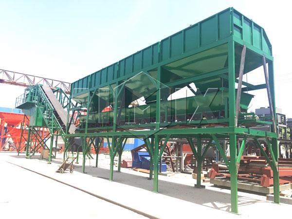 AJY-50 mobile concrete plant