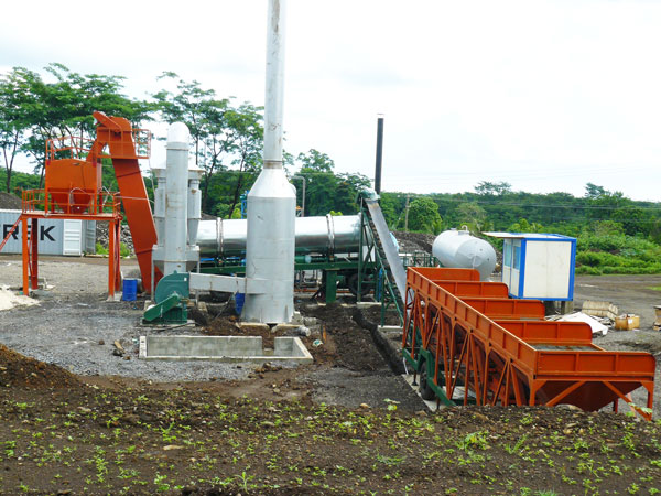 ALT80 asphalt drum mix plant