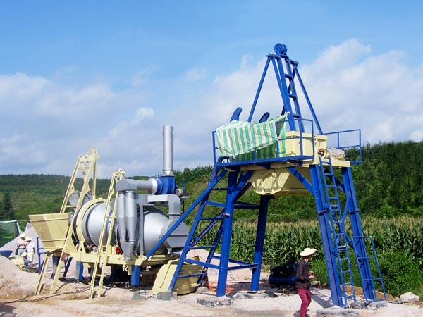 ALYJ-20 simple asphalt plant