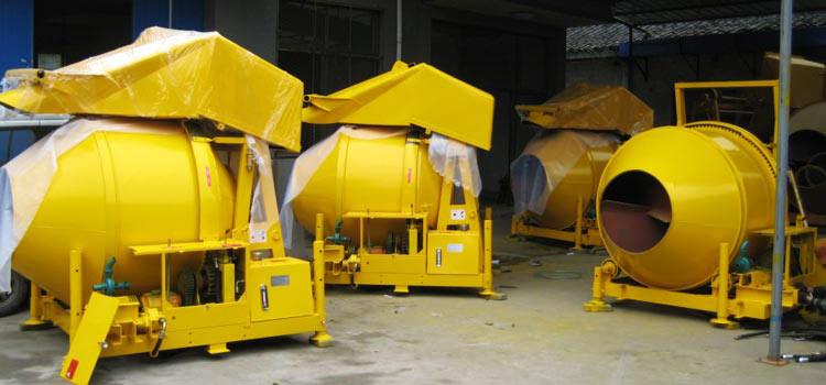 China diesel concrete mixer