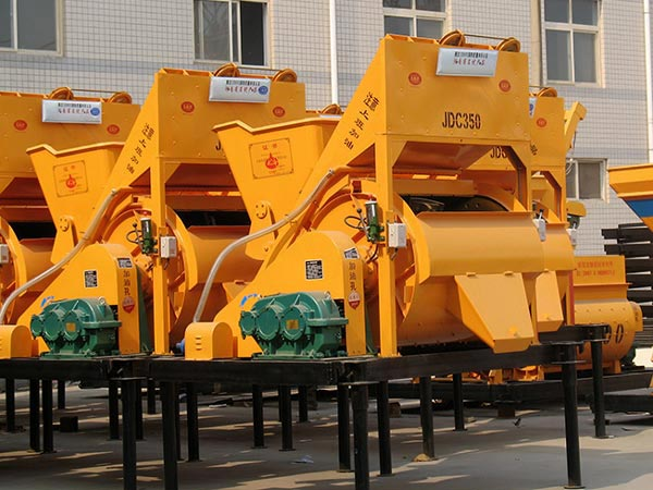 JDC350 single shaft concrete mixer