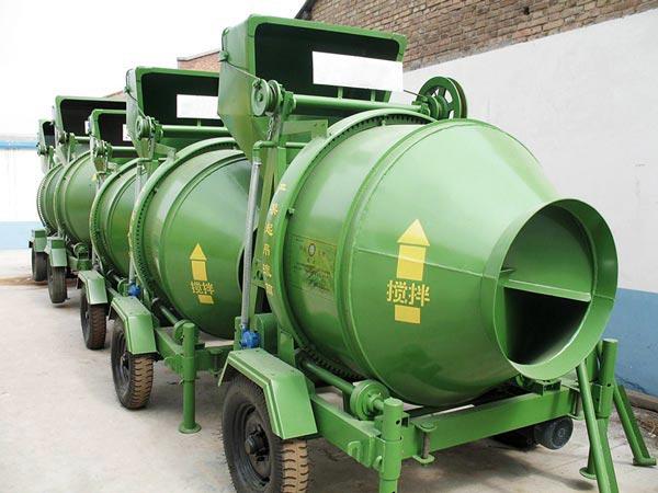 JZC350 mobile cement mixer