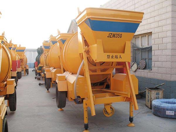 JZM350 concrete mobile mixer