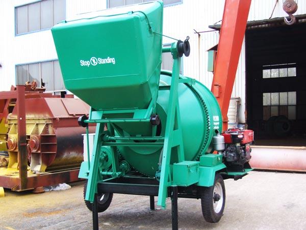 JZR350B diesel concrete mixer